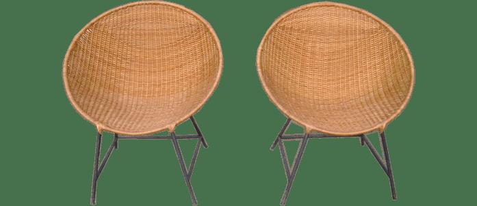 Muebles de Mimbre Chimbarongo SillonesSillas
