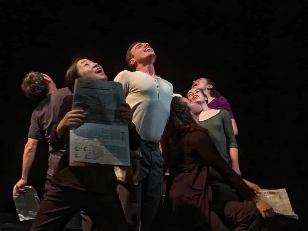 Photo Yvan Teulé pour Ecole International de Mime Corporel Dramatique