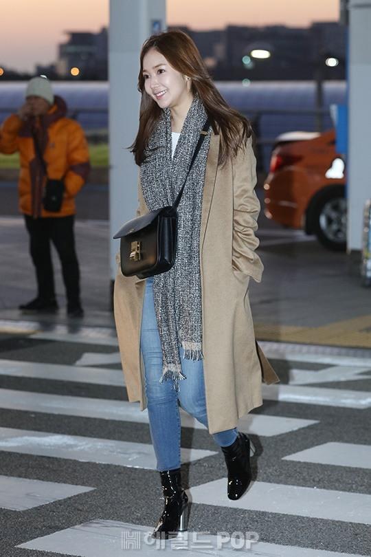 [포토]박민영 '이른 아침이라 추워요'