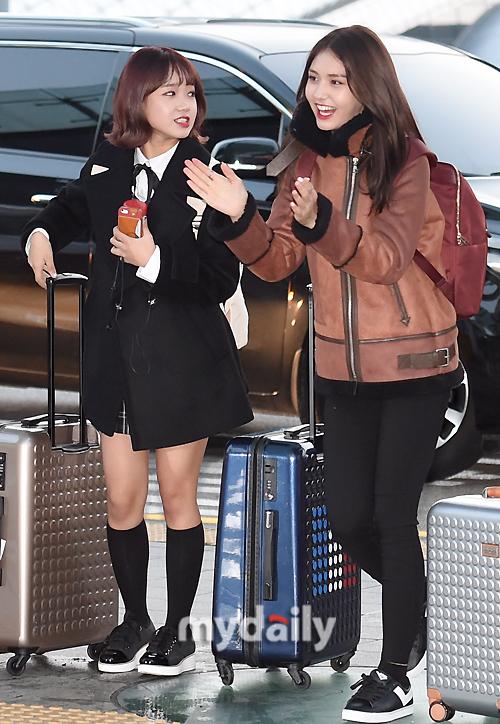 [MD포토] 아이오아이 전소미 '언제나 즐거워'