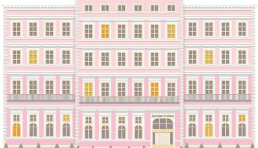 【Illustrator使い方の練習】シンボルとブレンドで建物を描く①