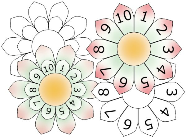 multiplication flowers