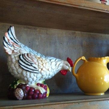 ceramic hen