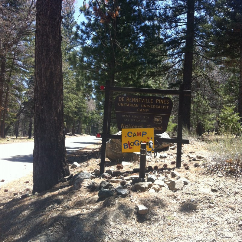 CampBlogaway entrance