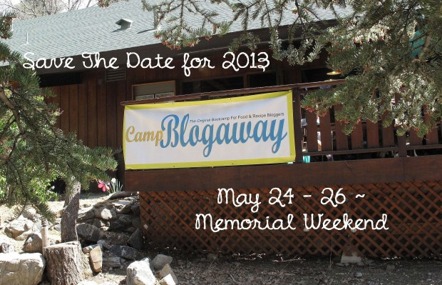 Save 2013 date for Camp Blogaway