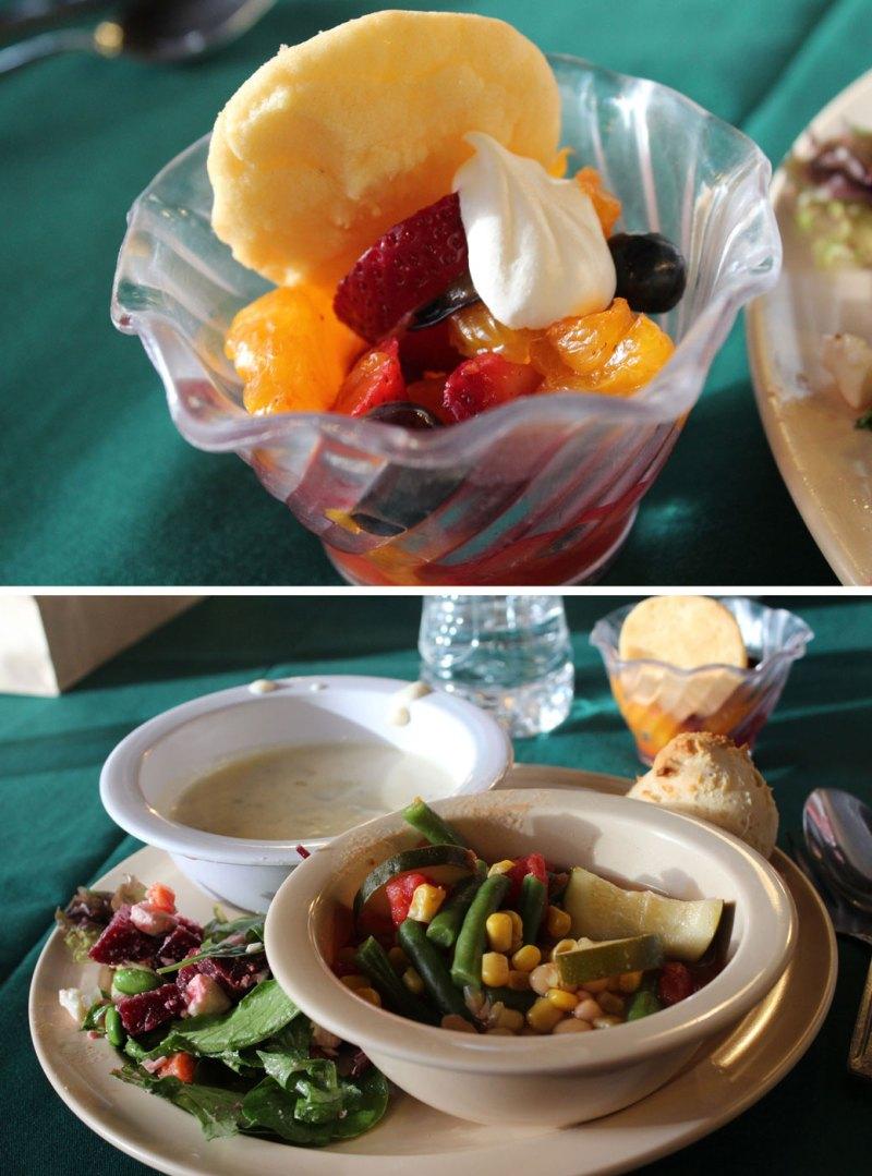 healthy meals at Camp Blogaway