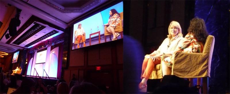 BlogHer12 Martha Stewart keynote