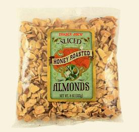 honey roasted almonds