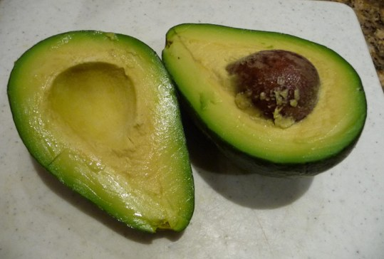 Fuerte avocado early in the season