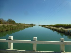 canal in Imperial Valley