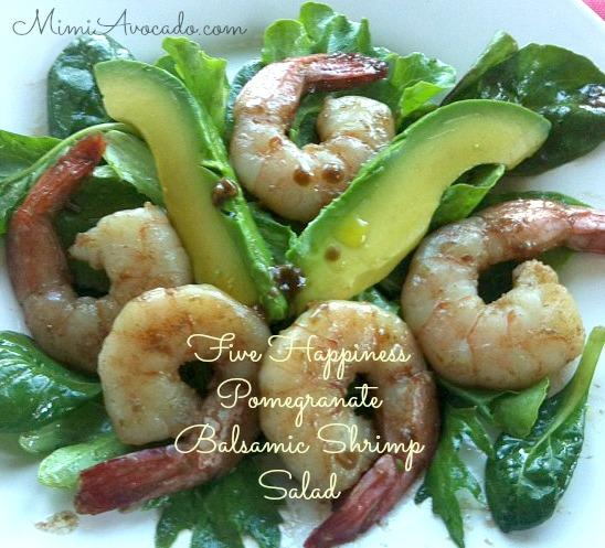 Five Happiness Balsamic Shrimp Salad