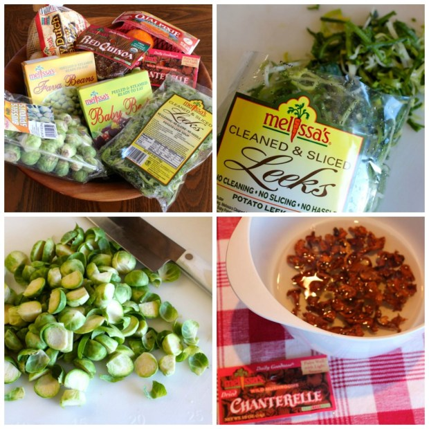 Collage-ingredients