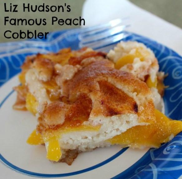 Liz Hudson's Peach Cobbler