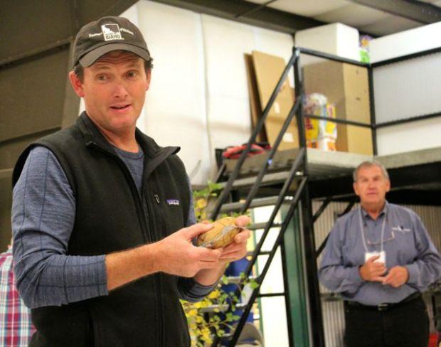 James Hoff potato grower