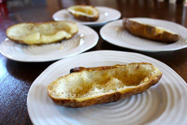Idaho potato skins