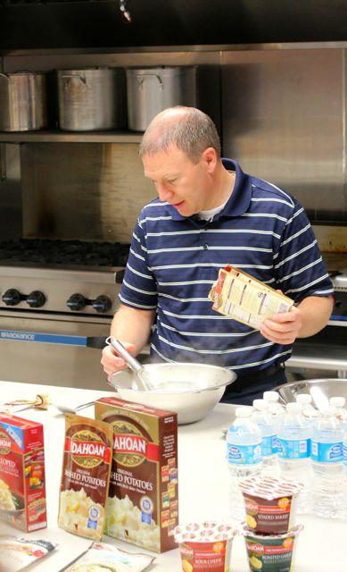 test kitchen demo