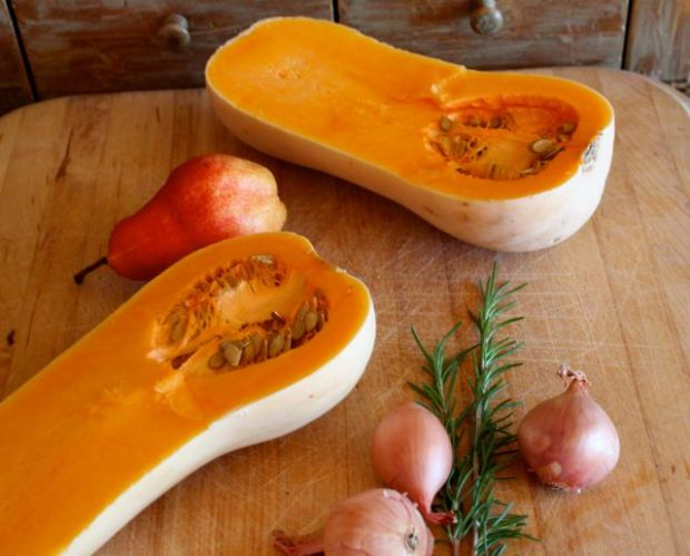 butternut squash and rosemary