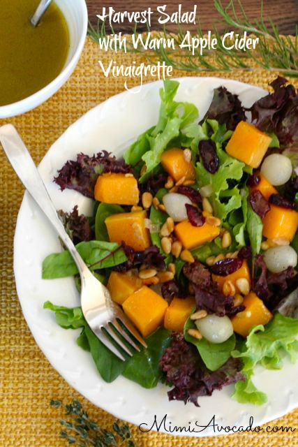 salad with butternut squash