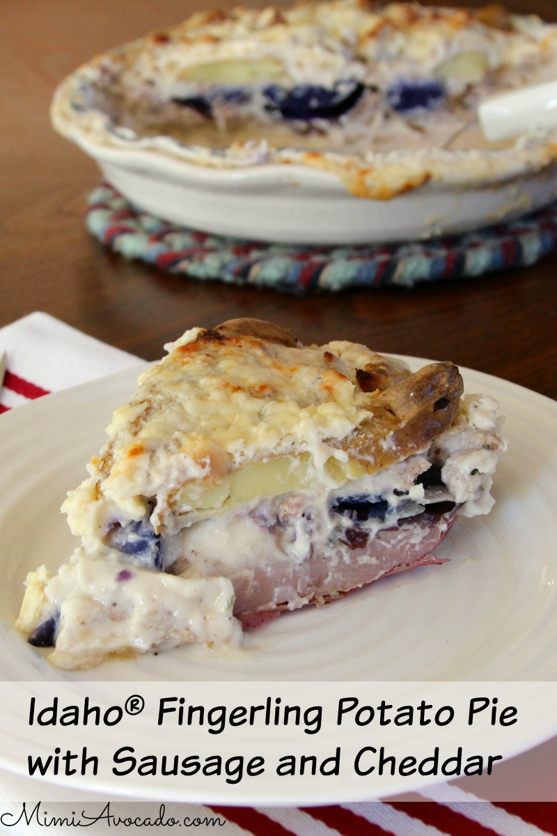 Idaho® Fingerling Pie