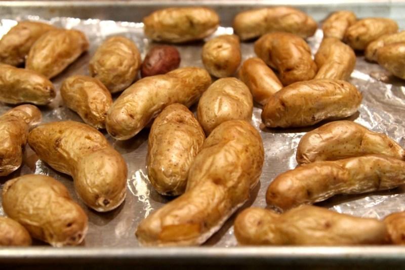 roasted Idaho® fingerling potatoes