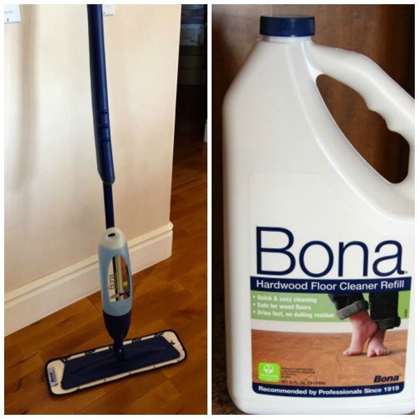 Bona mop and soap