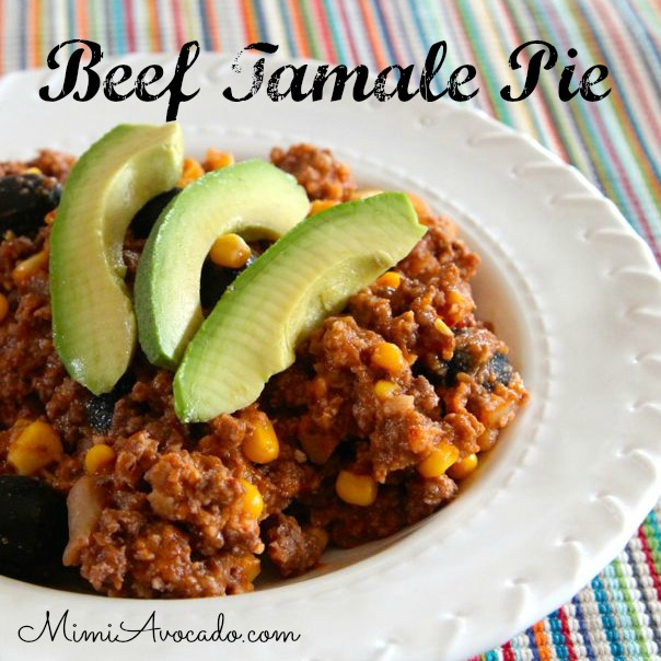 Beef Tamale Pie