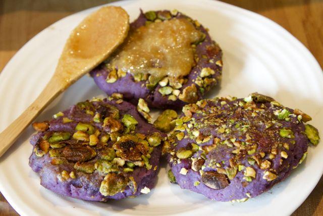 purple potato and marmalade