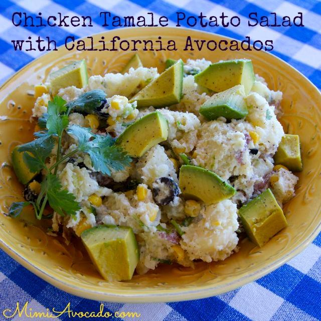 chicken tamale potato salad