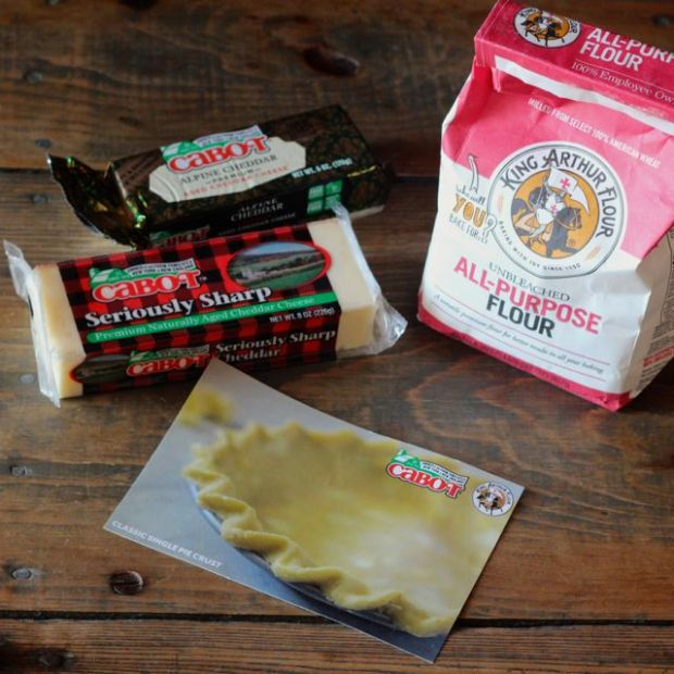 Cabot Cheese and King Arthur Flour