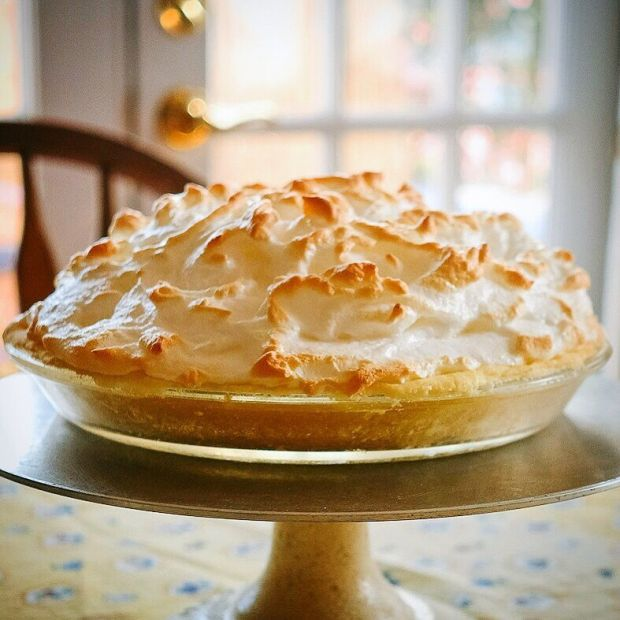 Lemon Meringue pie Kate McDermott