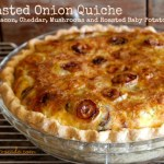 Roasted Onion Quiche