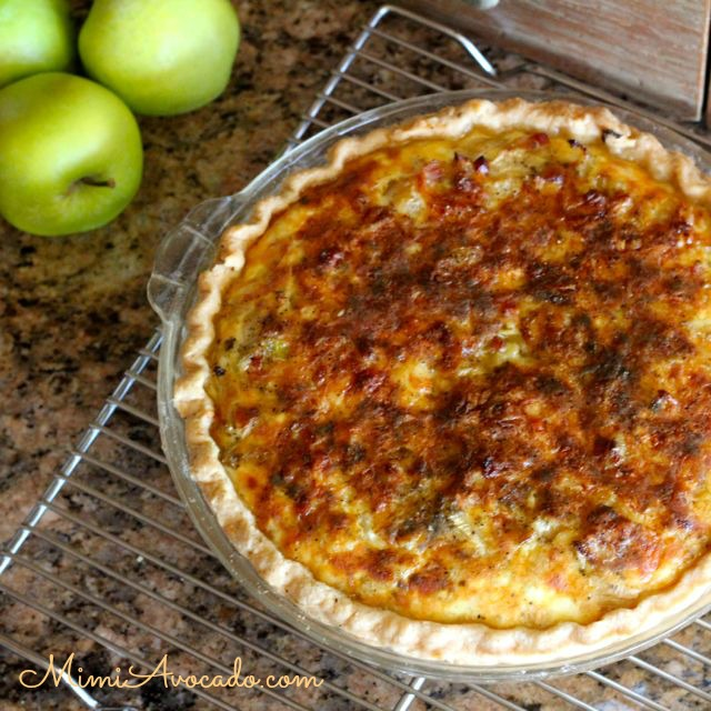 Fennel Quiche