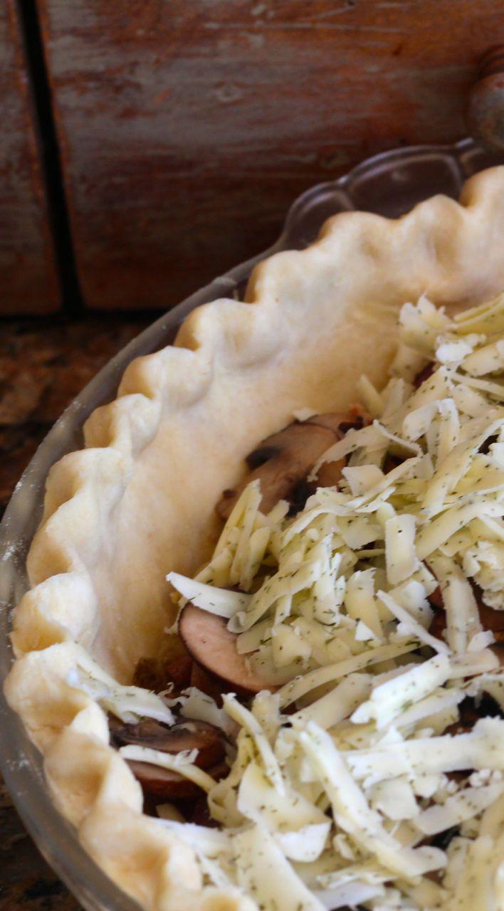 pie crust fluting