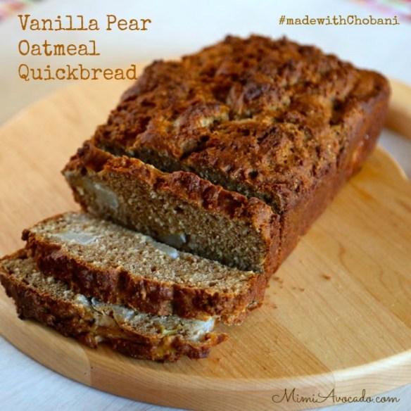 #madewithChobani quick bread