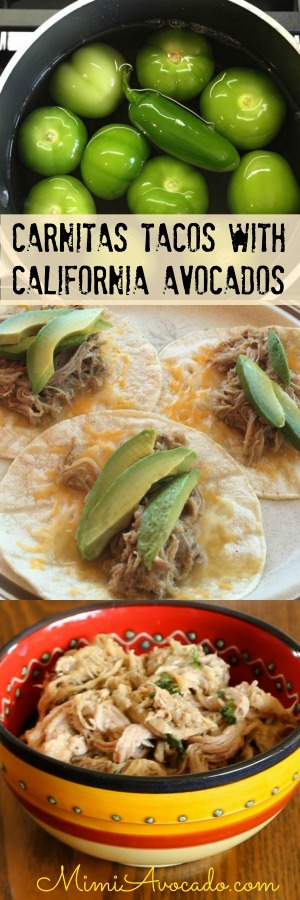 Carnitas Tacos for pinterest