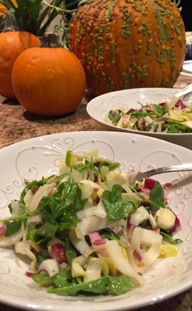 endive and arugula salad