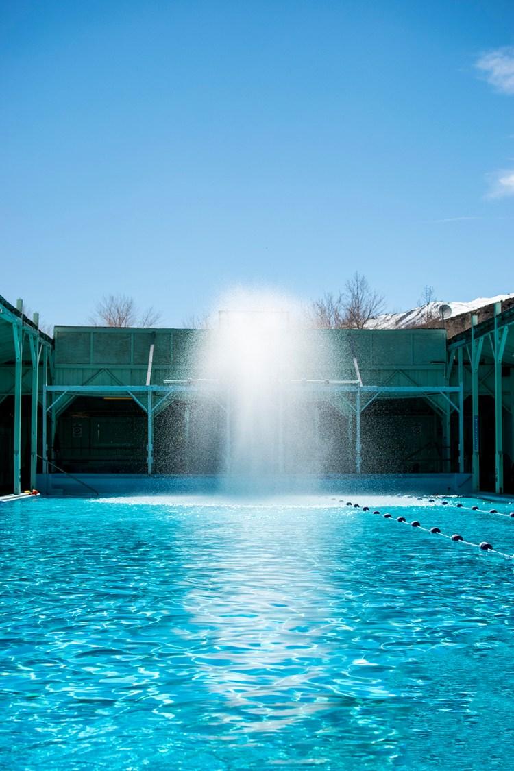 Keough's Hot Springs in Bishop, California. Natural hot spring pool. The best hot springs in the Eastern Sierra. The beset hot springs in Bishop, California.