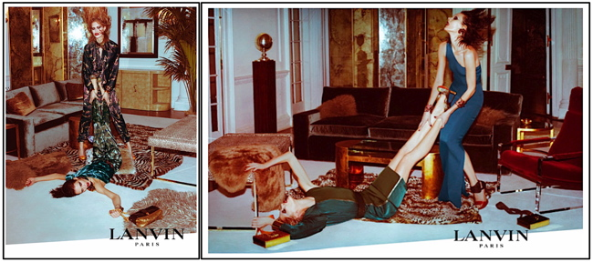 Lanvin, summer 2011 campaign, photographed by Steven Meisel
