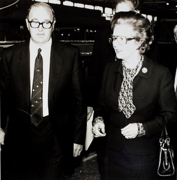 Margaret Thatcher at British Aerospace-thumb-350x354