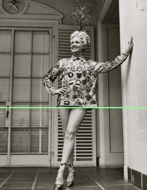 It's Betty Grable