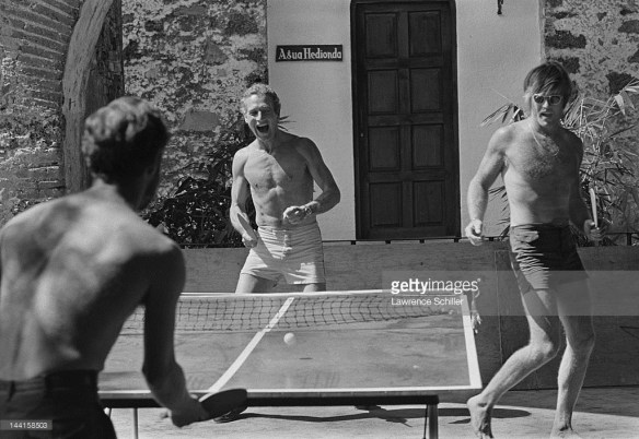 Paul Newman_Robert Redford_pingpong