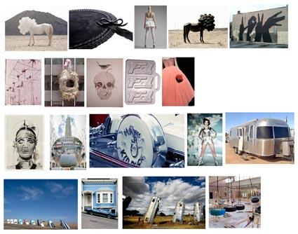 B2B Inspirational image editing for art-director (Ilse de Lange tour/look)