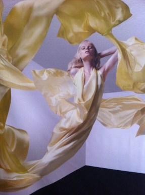 Draping of dress for Freudenthal/Verhagen
