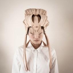 atarashii shimada headpiece. Photography by Wenn-Kee Hsu A/W 2012