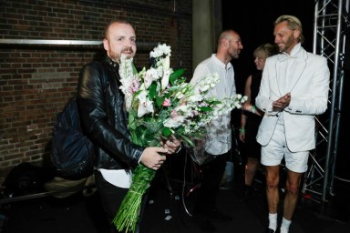 (Backstage: courtesy of AFW photography by Team Peter Stigter) This was the last collection for Dieter de Cock, after about 3 years at Cold Method he will be pursuing his career at Calvin Klein.