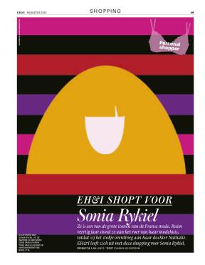 EH&I August 2013, personal shopping for Sonia Rykiel