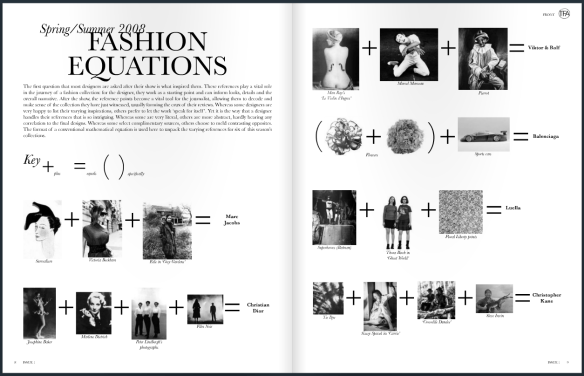 Fashion Equations