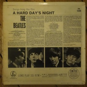 The Beatles, A hard day's night, 1964
