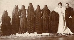 http://www.collectorsweekly.com/articles/the-seven-sutherland-sisters-and-their-37-feet-of-hair/