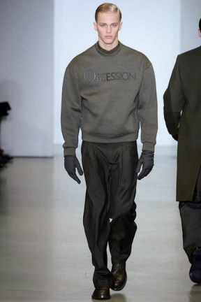 Calvin Klein Collection: Text, (sweater also comes with Eternity)